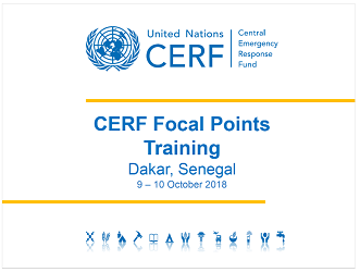 CERF Dakar Training - October 2018