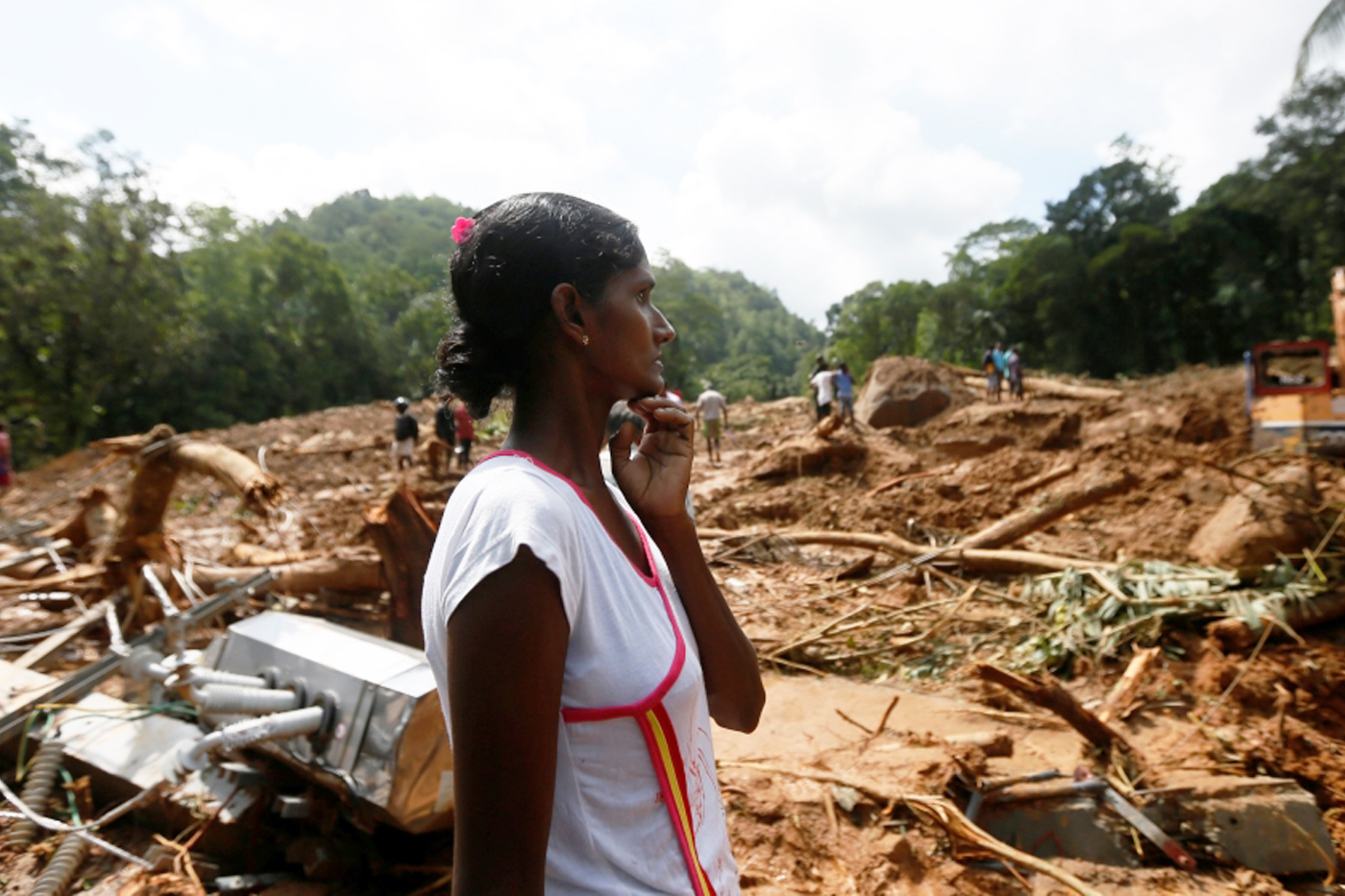 CERF funds are helping victims of floods and landslides in Sri Lanka