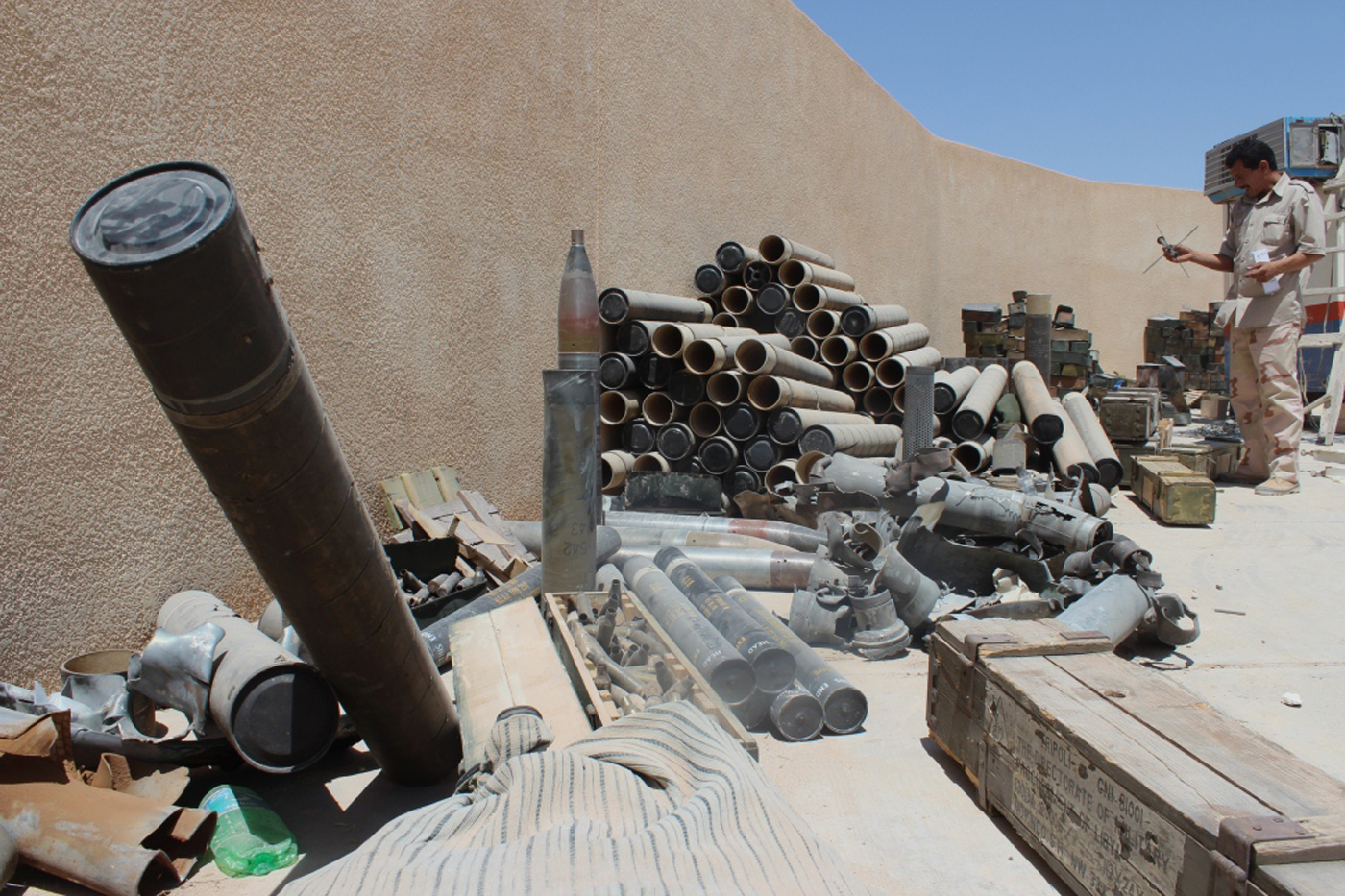 cerf improving safety among explosive hazard clearance operators in libya