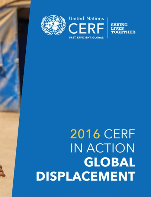 CERF thematic brochure on displacement