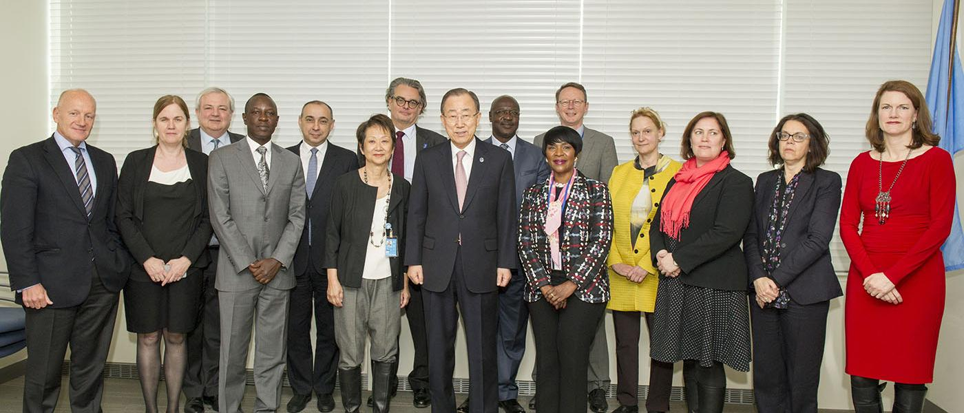 CERF Advisory Group members meet in New York on 21-22 March 2016
