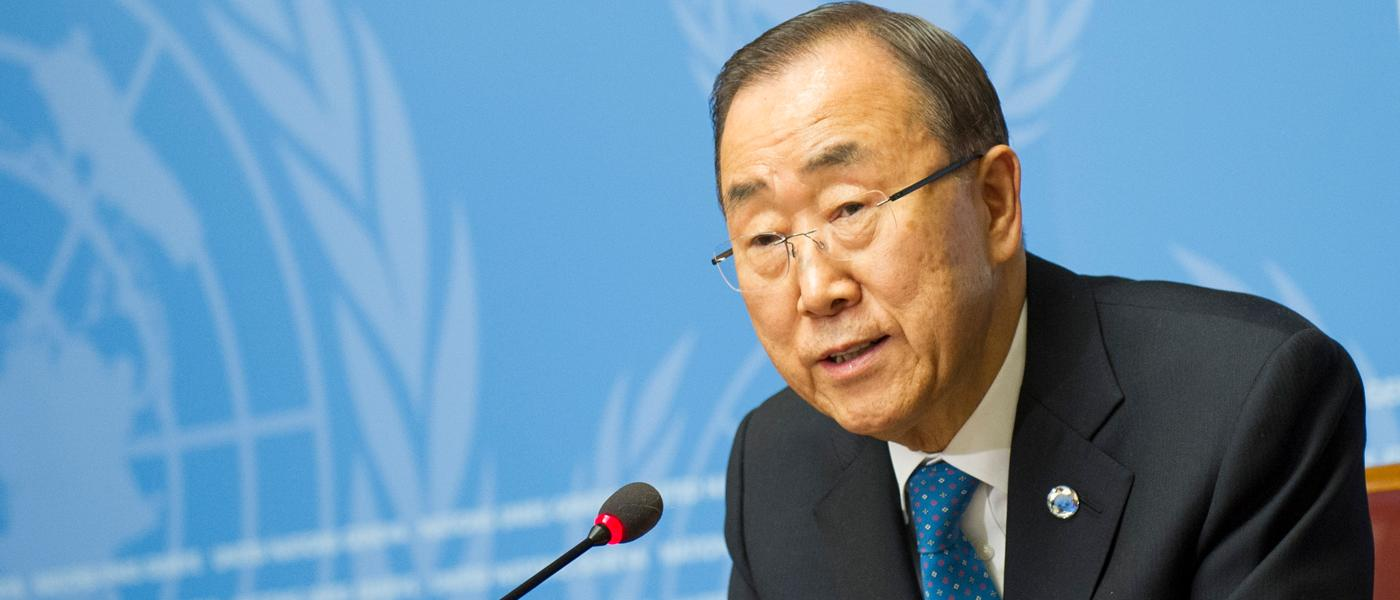 Secretary-general Ban-Ki Moon has submitted his annual report to the general assembly outlining the use of the CERF in 2015