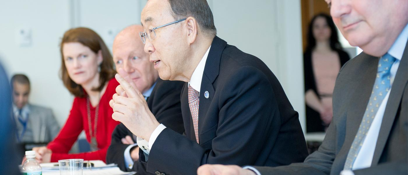 UN secretary-general appoints new members to global emergency fund's advisory group