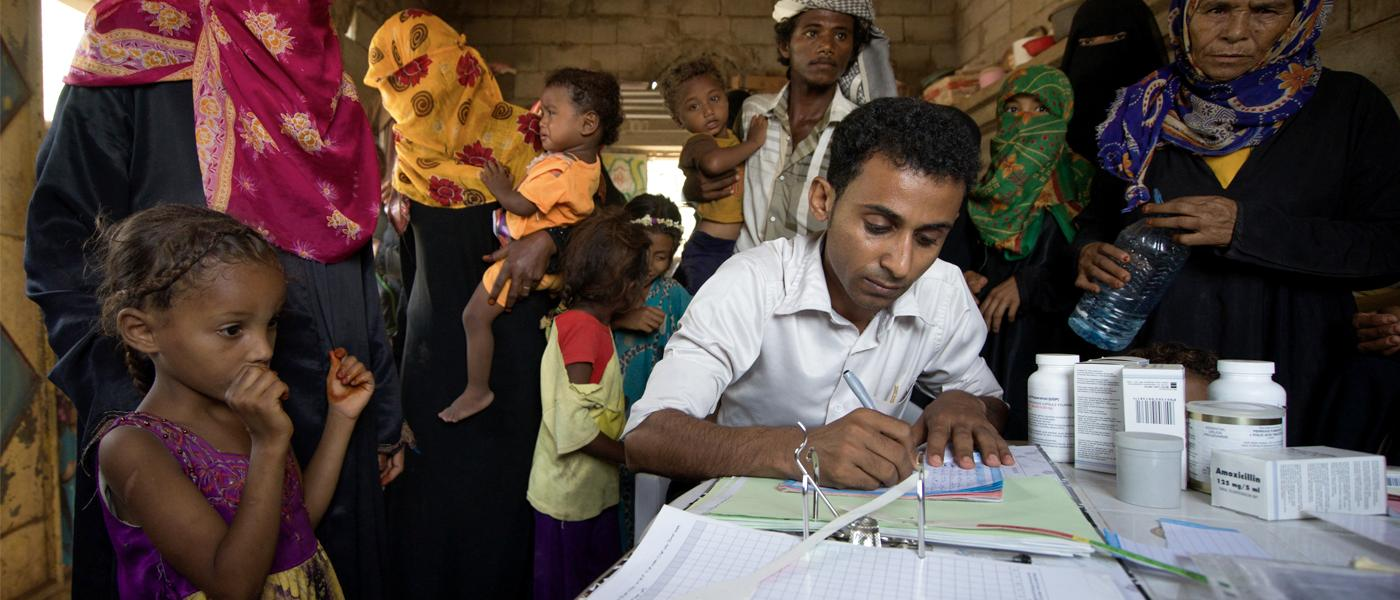 Yemenis receive urgent health care with help of CERF funding