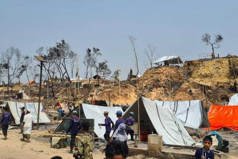 UN releases US$14 million for Rohingya refugees left homeless by camp fire
