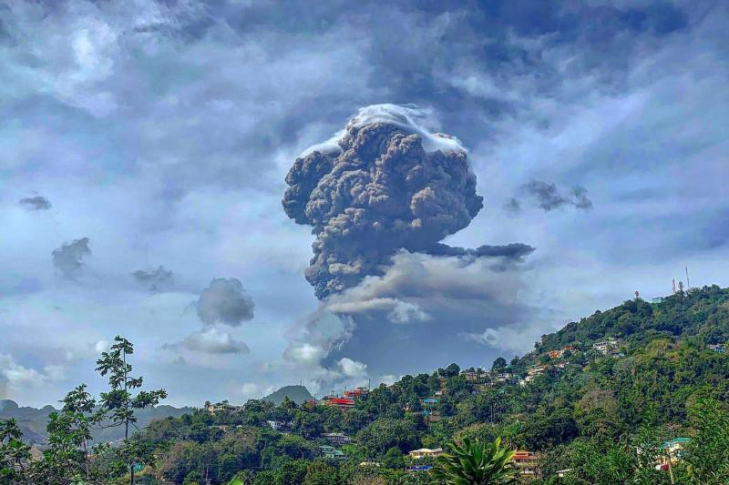 UN Emergency Fund allocates $1M for humanitarian response to La Soufrière volcanic eruption
